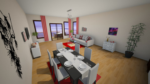 room 01  - Living room - by ivka3131