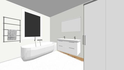 COOSEMANSSTRAAT56_VD1 - Modern - Bathroom  - by Kris_VV