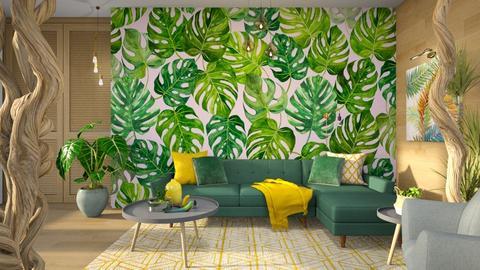 Urban Jungle Living - Living room - by Vlad Silviu