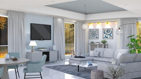 M_Sunbeam - Modern - Living room  - by milyca8