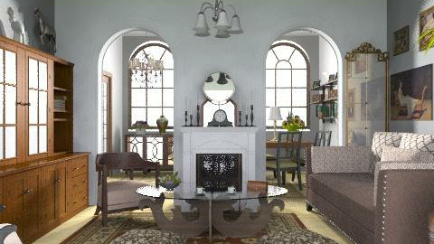 Elegant Rooms - Classic - Living room  - by milyca8