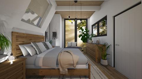Attic - Bedroom  - by RonRon