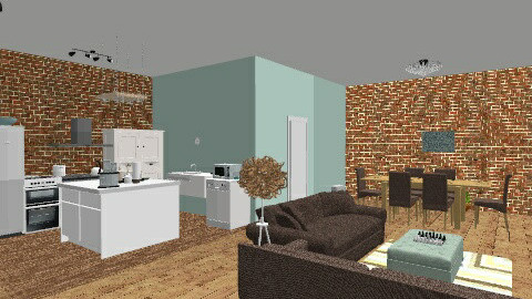 Stacks Loft - Living room  - by reallycoolusername