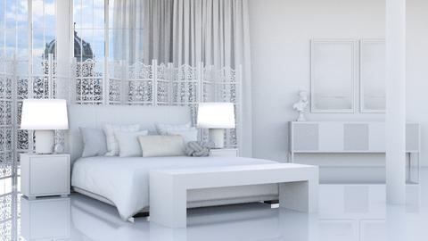 White Silk - Modern - Bedroom  - by HenkRetro1960