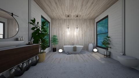 jungle bathroom - Bathroom  - by madaline