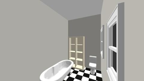 Downstairs Bathroom - Classic - Bathroom  - by outrunthewolf