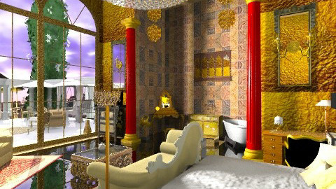 king - Classic - Bedroom  - by lamzoi