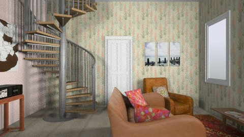living room - Vintage - Living room - by meglaidha