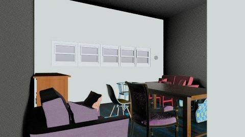 Retro Living Room - Retro - Living room - by sarahdeco2