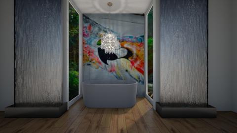 parrot bathroom - by tessmcquillan