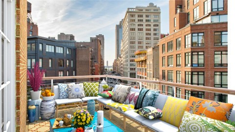 Small Balcony in Tribeca - Modern - Garden  - by creativediva