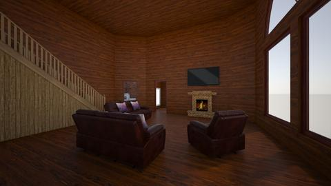 Wood home - Living room  - by ashleycdean