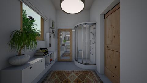 Zen_guest bathroom - Bathroom  - by lovasemoke