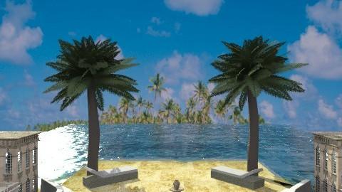 Beachside Hotel - Modern - Garden  - by Coco_Juno