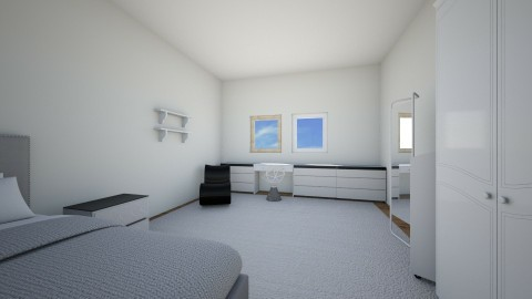 not finished - Minimal - Bedroom - by Larica bublica