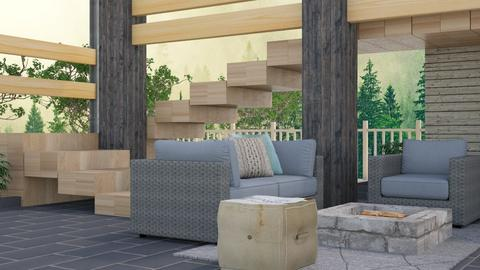 Patio - Rustic - by millerfam