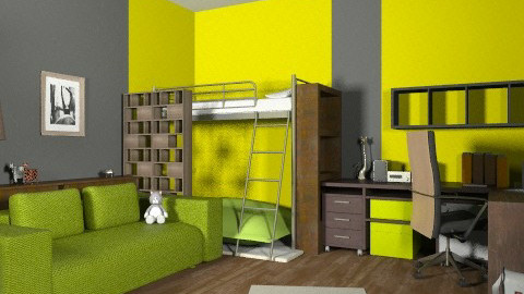 minimal - Minimal - Kids room  - by Emike