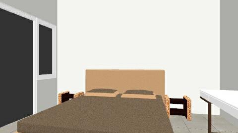 Main bedroom - Minimal - Bedroom - by tengu