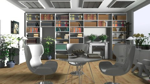 My Dream Study Room - Feminine - by Mary Lee