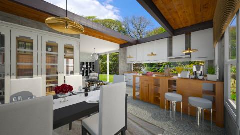 Open Kitchen - Kitchen  - by Joao M Palla
