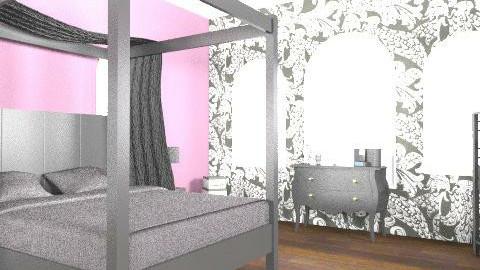 Purple Elegance - Glamour - Bedroom - by loisevams