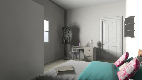 atheer - Glamour - Bedroom - by Atheer Abdullah
