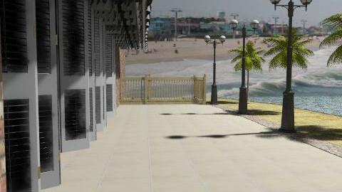Beach scene - Garden  - by mydeco templates