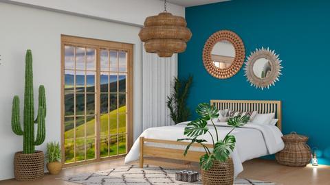 BOHO Bedroom - by I designs