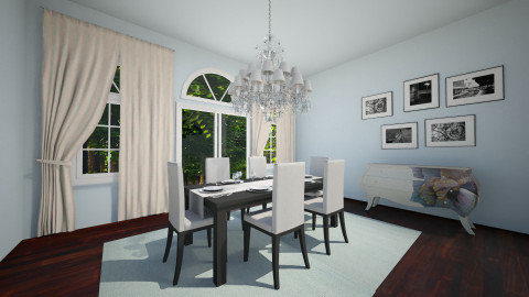 test 1  - Glamour - Dining room  - by jnd444