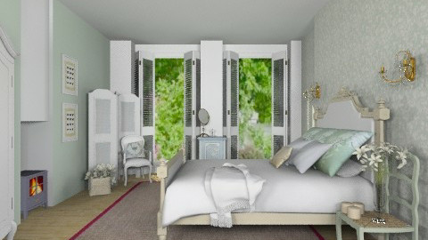 French Duck - Eclectic - Bedroom - by Carliam