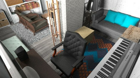 ac - Retro - Living room  - by mogly