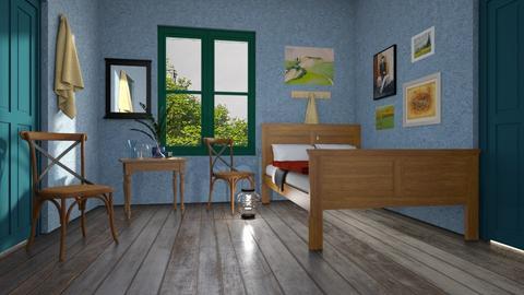 van gog - Living room  - by iraa