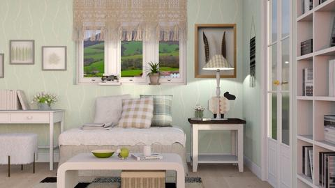 Sheep Theme - Eclectic - Living room  - by Sally Simpson