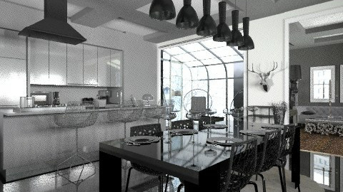 Kitchen - Modern - Kitchen  - by josephinesw