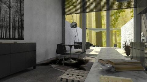 Forest Seclusion - Modern - Garden  - by mannu