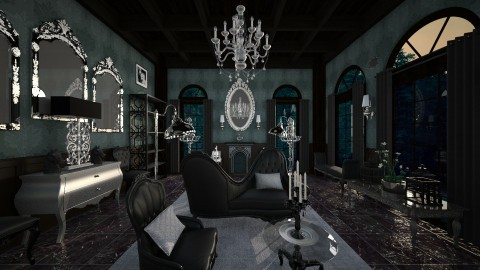 Dark Ceiling - Classic - Living room  - by Pirschjaeger
