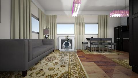 LIV AND KIT - Eclectic - Living room  - by decordiva1