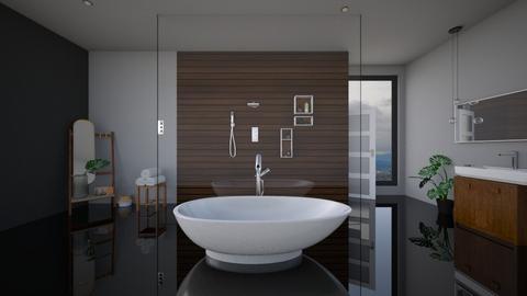just dark1 - Modern - Bathroom - by kantorjanos