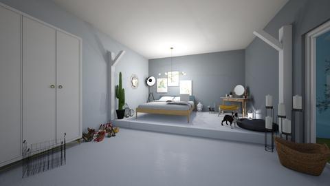 bedroom - Bedroom - by Ema Chocholackova