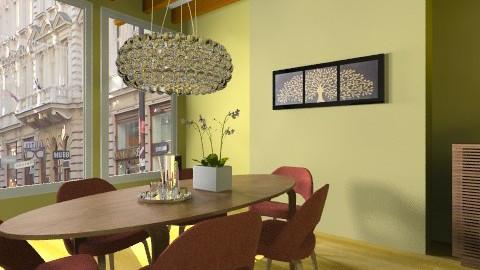 DWRChernerSaar - Eclectic - Office  - by evakarwowska