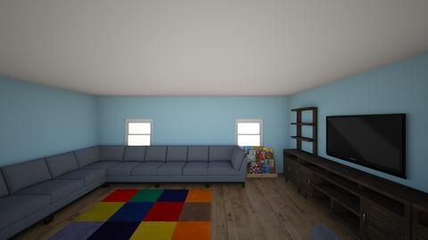 Duplex for M Living Room - Kids room  - by MSchrive