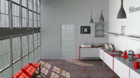 LoftKitchen6 - Modern - Kitchen  - by camilla_saurus