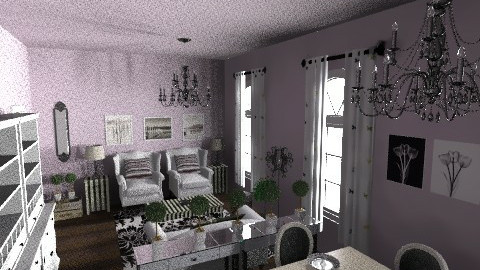 purple women apartment - Glamour - by kiscsitty