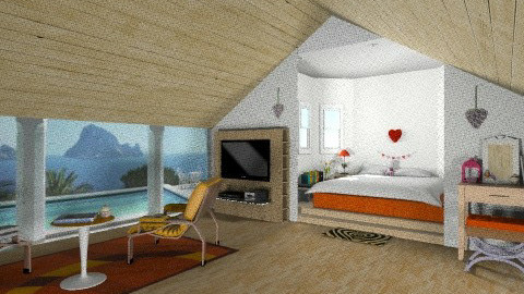The Sanctuary - Minimal - Bedroom - by Nicky West