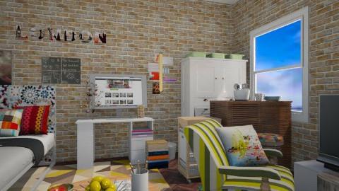 24 - Feminine - Bedroom  - by sketchbookdesign