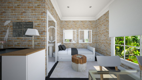 Small Studio - Living room - by deleted_1563646726_mahayka