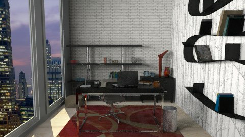Home Office - Modern - Office  - by sminderis3