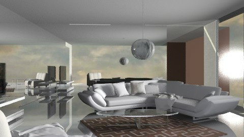 min white - Minimal - Living room  - by chania