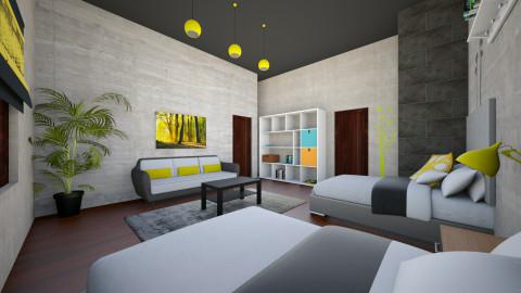 Room idea - Bedroom  - by Diego Elias Trevino