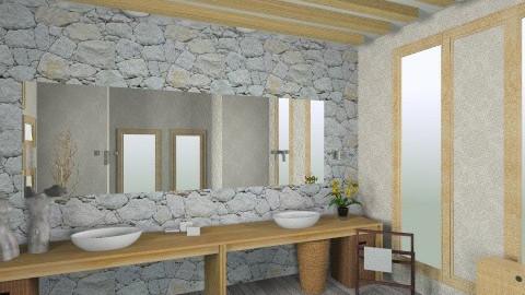 Lvbo - Rustic - Bathroom  - by marangon